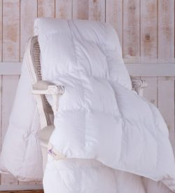 Goosedown duvets and pillows