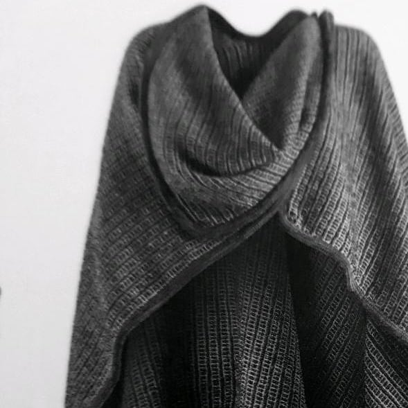 wool , poncho , linen, winter