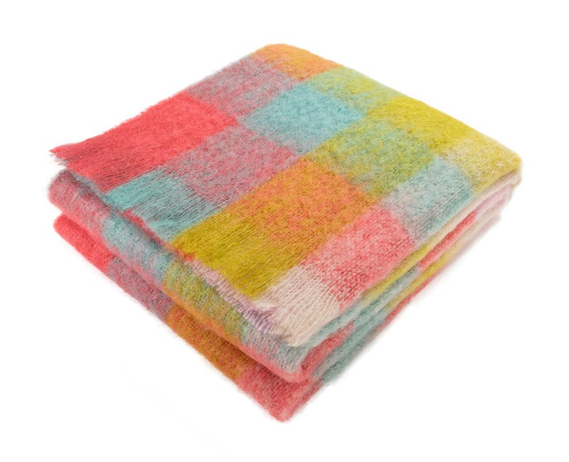 mohair wool blanket