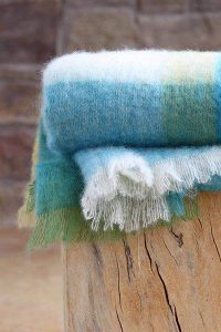 mohair wool throw king size