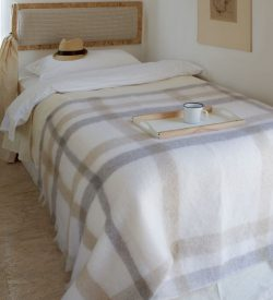 Mohair , Wool , Silk , Alpaca Throws and Blankets