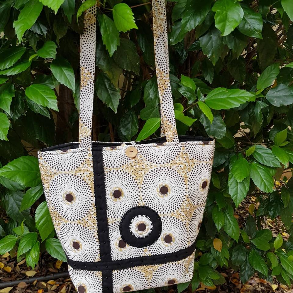 cotton tote bag handmade