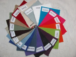 Cotton throw colour wheel