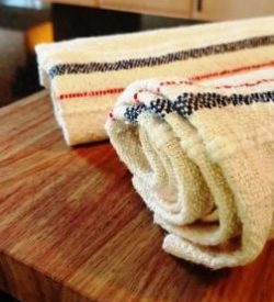 Cotton handwoven towels and tea towels