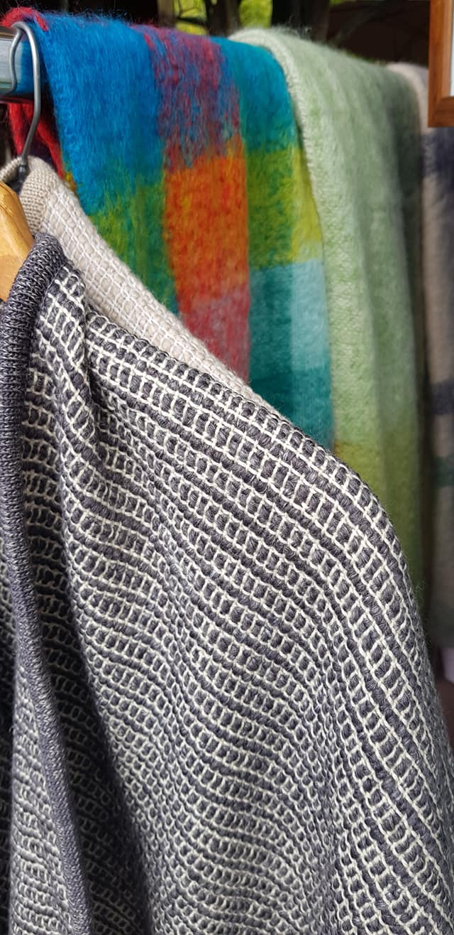 wool and linen cape